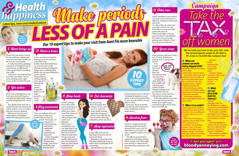 Health Make periods less of a pain.jpg